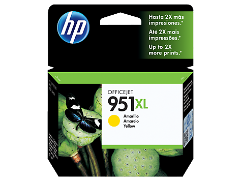 CARTUCHO DE TINTA HP 951XL AMARILLO