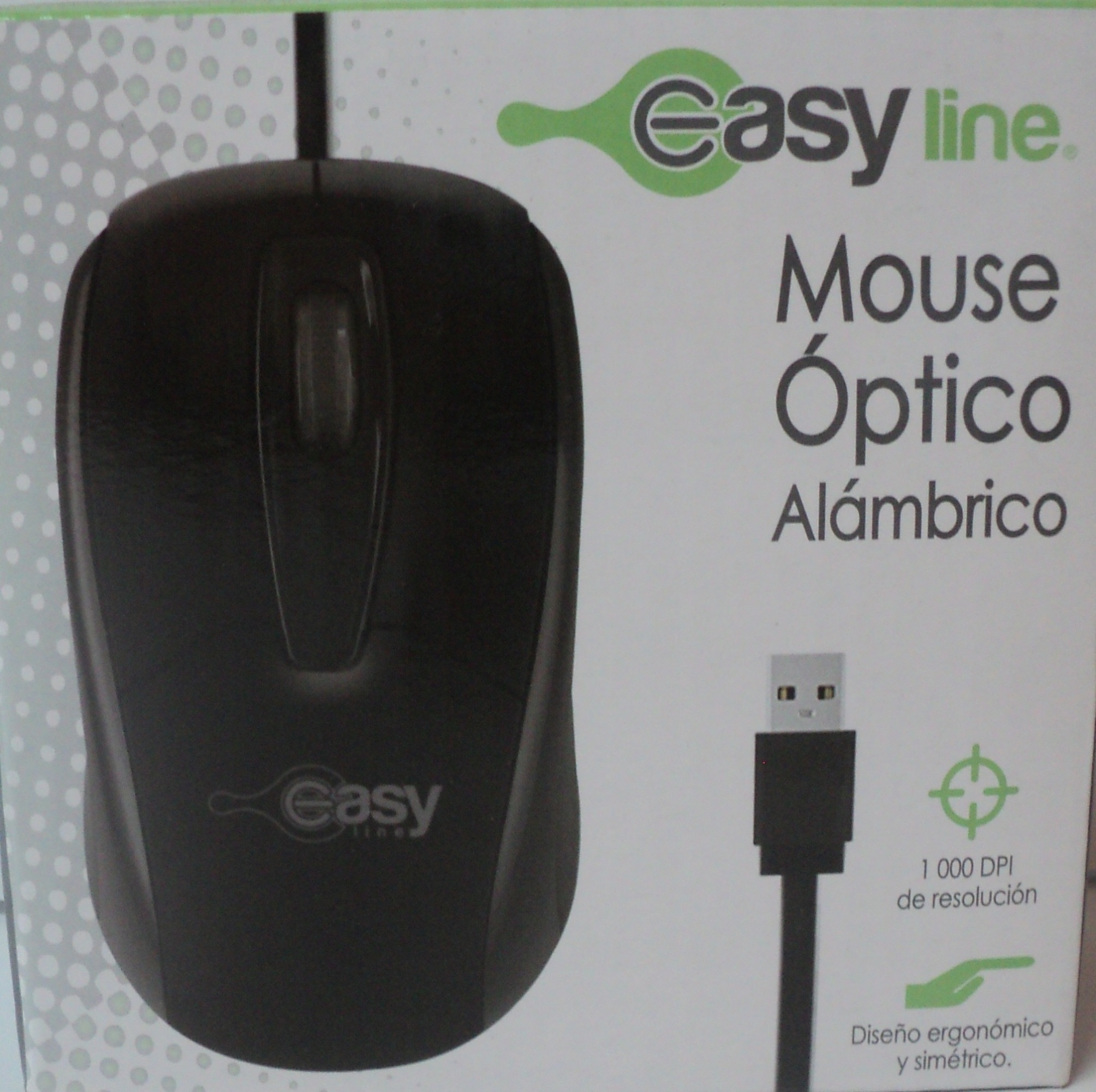 MOUSE OPTICO EASY LINE