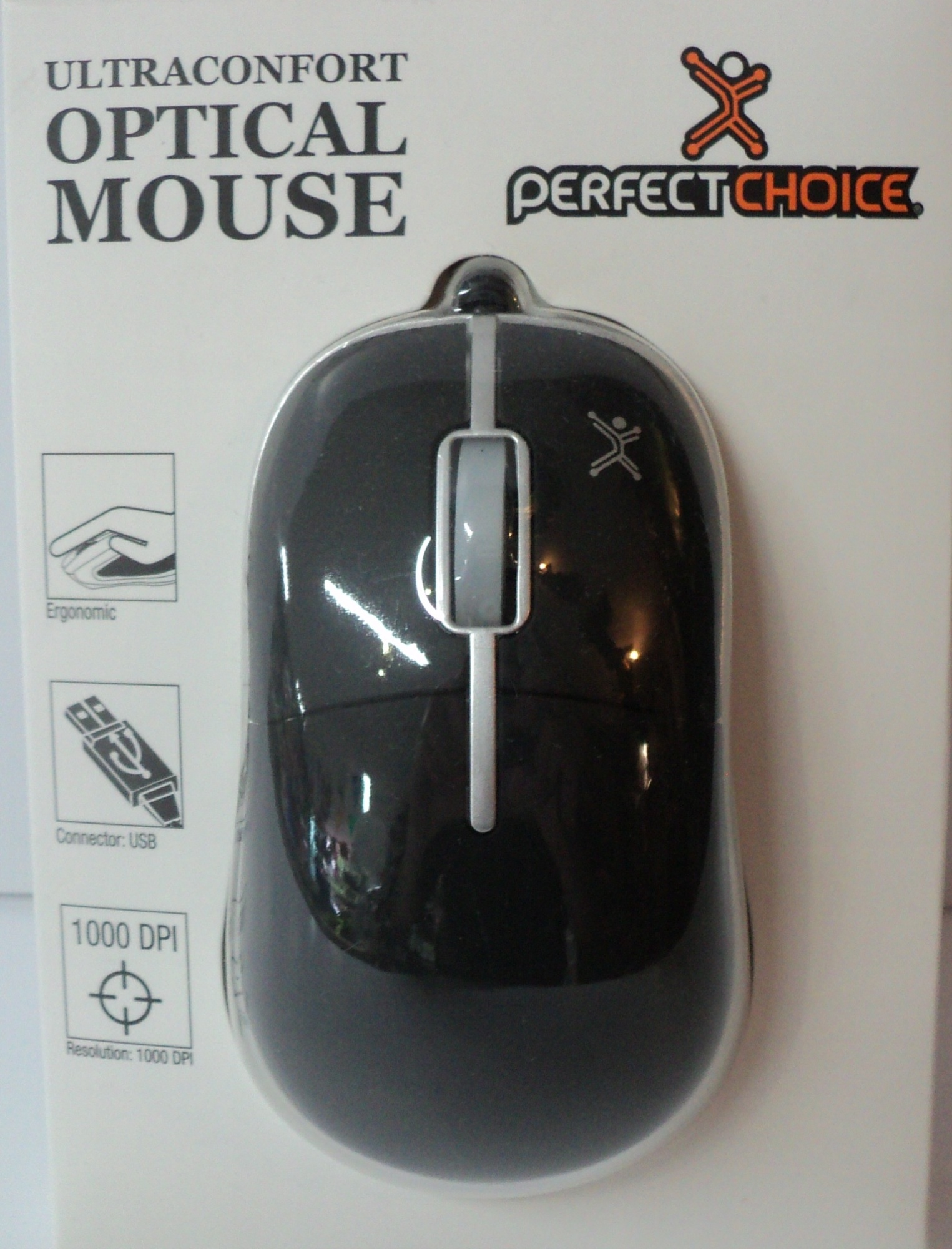 MOUSE OPTICO PERFECT CHOICE